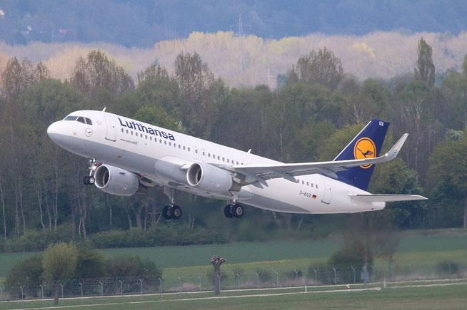 "A 320-214/W  "" D-AIUX ""  Lufthansa -2"