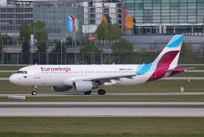 "A 320-214 "" D-ABNU "" Eurowings -2"