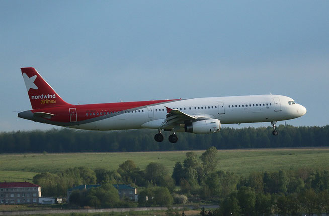 "A 321-231 "" VP-BGH ""   Nordwind Airlines -1"