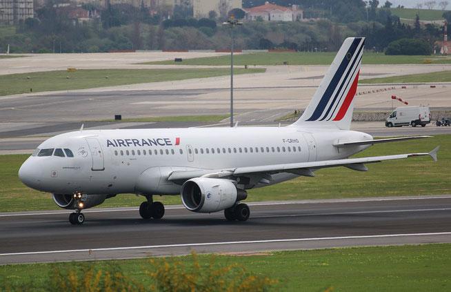 "A 319-111 "" F-GRHO "" Air France -1"