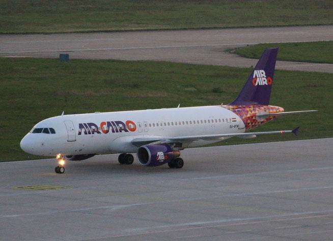 """A 320-214 """" SU-BTM """" Air Cairo -1"""
