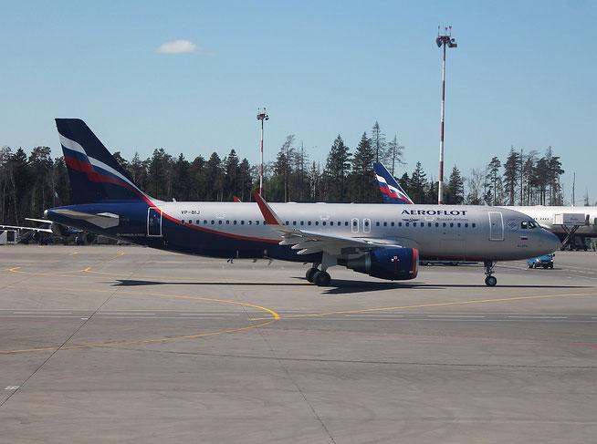 "A 320-214/WL  "" VP-BIJ ""  Aeroflot -1"