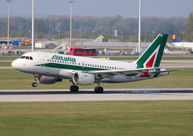 "A 319-111 "" EI-IMR ""  Alitalia -1"