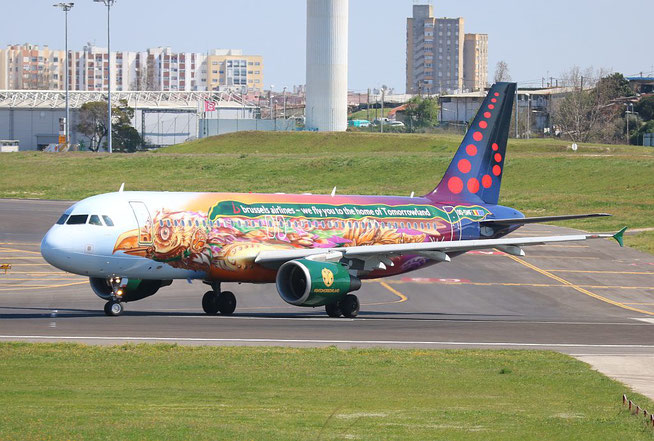 "A 320-214  "" OO-SNF "" Brussels Airlines -4"