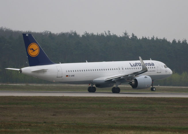 """A320-271n (W) """" D-AINE """"  Lufthansa -2"""