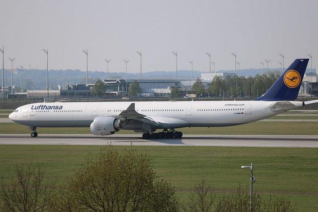 """A 340-642  """" D-AIHH """"  Lufthansa -1"""