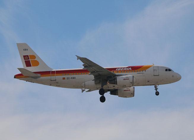 """A 319-111  """" EC-KBX """" Iberia -2"""