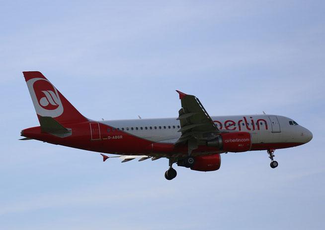 """A 319-112  """" D-ABGR """"  Air Berlin -1"""