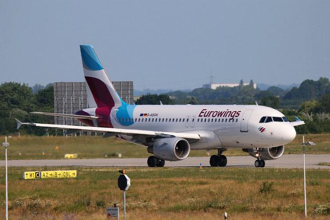 """A 319-112  """" D-ABGK """"  Eurowings -3"""