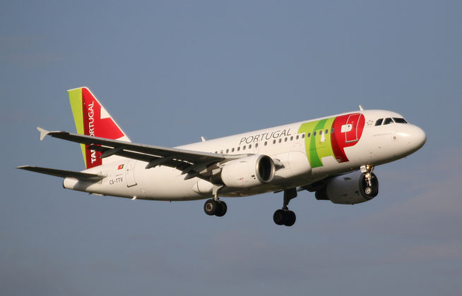 "A 319-112 "" CS-TTV ""  TAP Air Portugal -1"