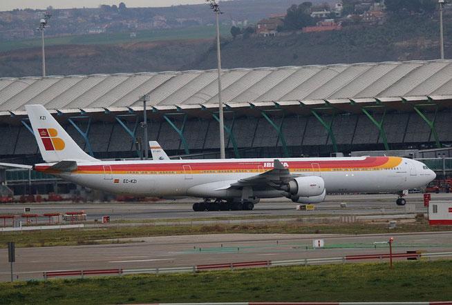 """A 340-642  """" EC-KZI """"  Iberia -2"""