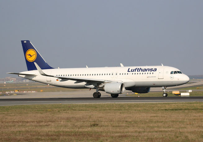 "A 320-214/W  "" D-AIUG ""  Lufthansa -1"