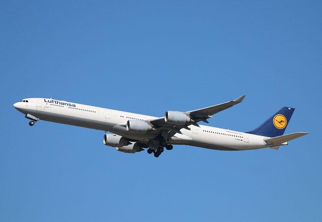 "A 340-642  "" D-AIHE ""  Lufthansa -3"