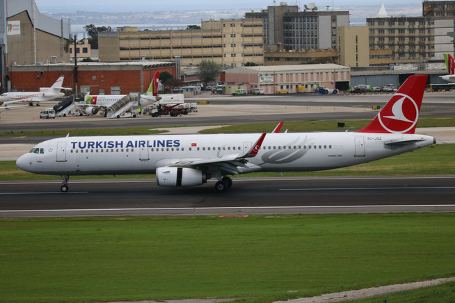 "A 321-231/W "" TC-JSZ ""  Turkish Airlines -1"