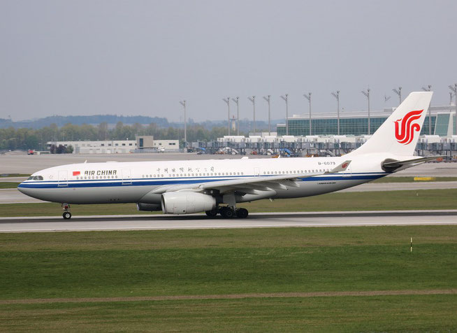 """A 330-243 """" B-6079 """"  Air China -1"""