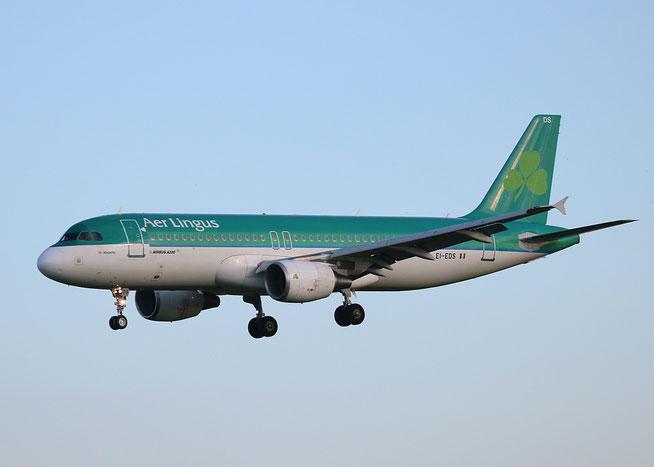 """A 320-216  """" EI-EDS """"  Air Lingus -2"""