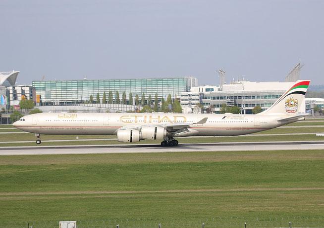"A 340-642 HGW  "" A6-EHL ""  Etihad Airways -2"