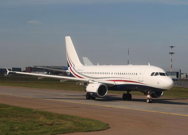 """A 319-115(CJ)  """" OE-LJG """"  MJet -1"""
