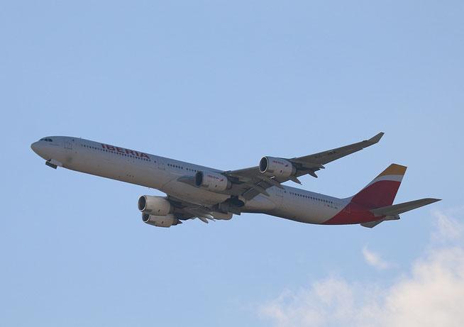 """A 340-642  """" EC-JBA """"  Iberia -2"""