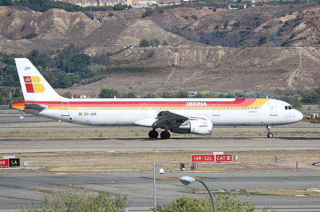"""A 321-211 """" EC-JDR """"  Iberia -3"""