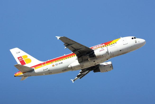 """A 319-111  """" EC-KHM """" Iberia-4"""