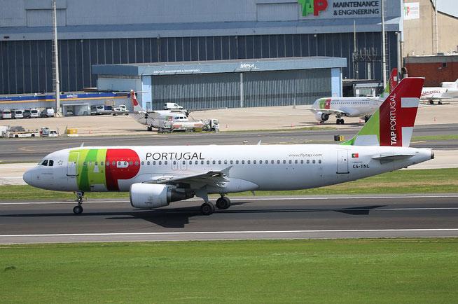 """A 320-214  """" CS-TNL """" TAP-Air Portugal -3"""