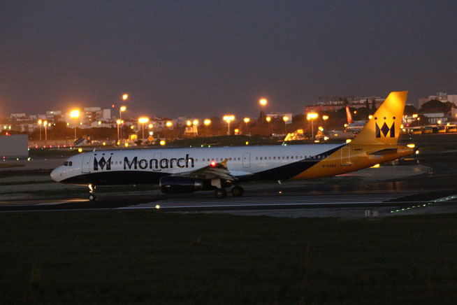 "A 321-231  "" G-OZBZ ""   Monarch Airlines -1"
