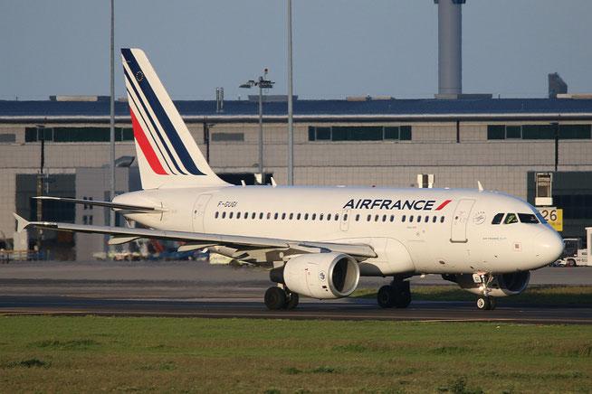 """A 318-111 """" F-GUGI """"  Air France -2"""