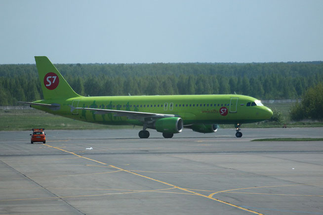 "A 320-214  "" VP-BCS "" S7 Airlines -1"