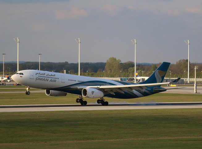 "A 330-343 "" A4O-DI ""  Oman Air -1"