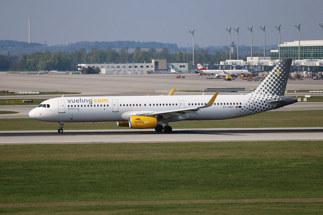 """A321-231 (W) """" EC-MMH """"  Vueling Airlines -2"""
