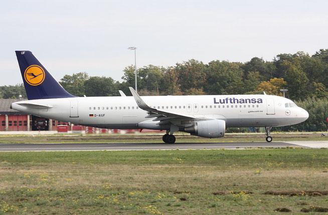 """A 320-214/W  """" D-AIUF """"  Lufthansa -1"""
