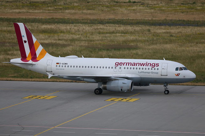 "A 319-132  "" D-AGWN "" germanwings -5"