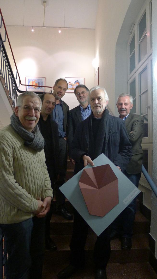 Ekkehard Neumann 1.Preisträger Wegmarken2013
