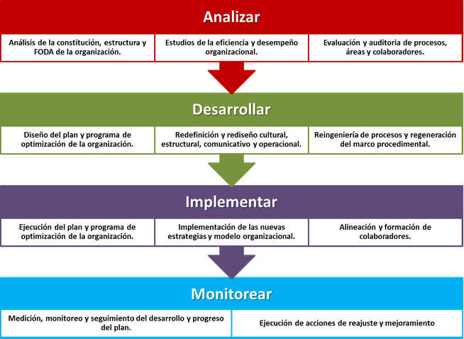 Proceso de desarrollo organizacional - Corporate Excellence