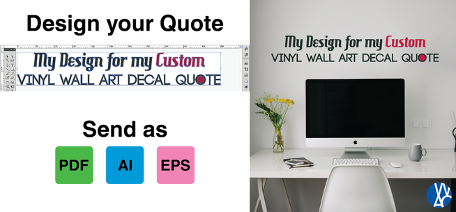 how to make your own quote wall art
