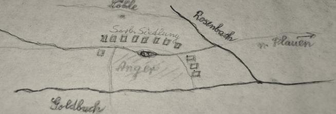 8. Jh. Siedlung zwischen Goldbach & Rosenbach
