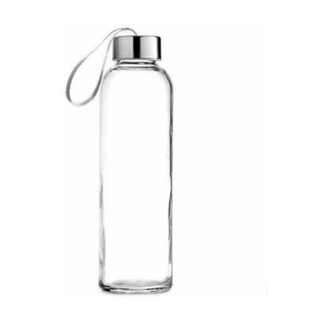 Botella De Vidrio Con Asa