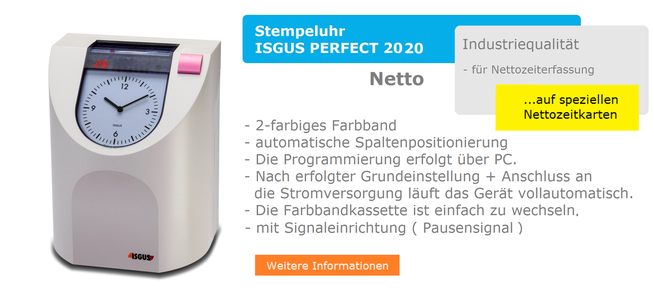 ISGUS PERFECT 2020  Netto  -  www.hoelling.info