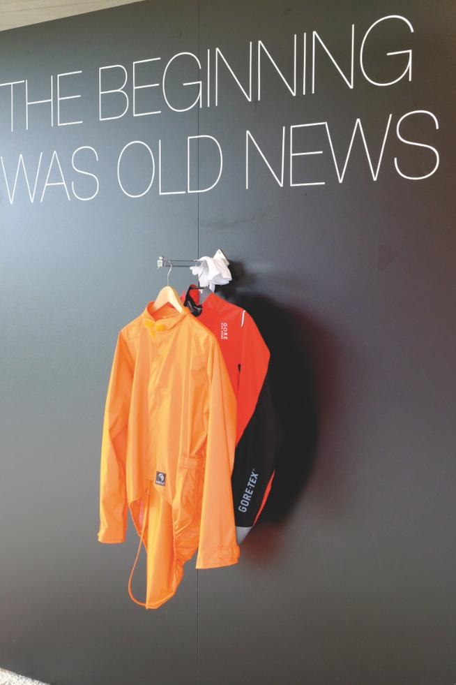 """Die Ur-Jacke: """"Giro"""" hieß die erste Regenjacke für Radfahrer."""