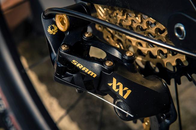 Das Schaltwerk der XX1 Eagle für XC-Rennfahrer