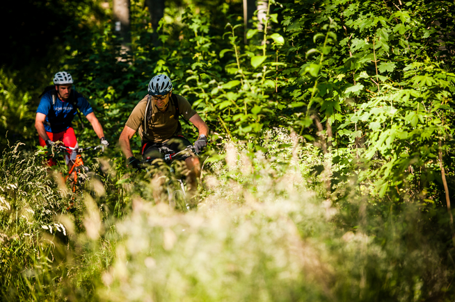 Trailspaß auf der schwäbischen Alb