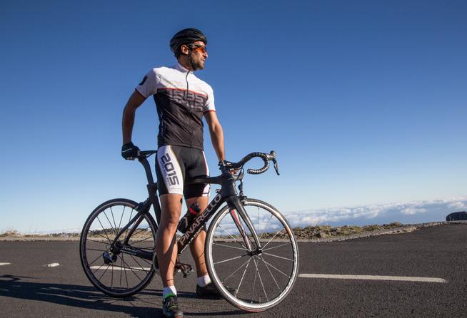 Bis zum Horizont: Das Voralpenland in Oberbayern ist die Heimat von Gore Bike Wear.