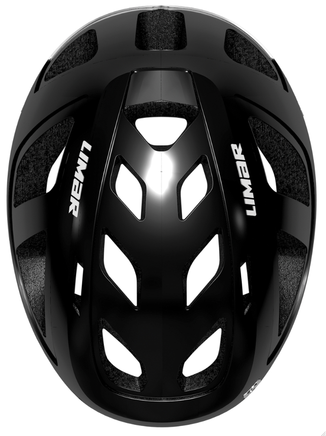 So sieht der Helm ohne Deckplatten aus.