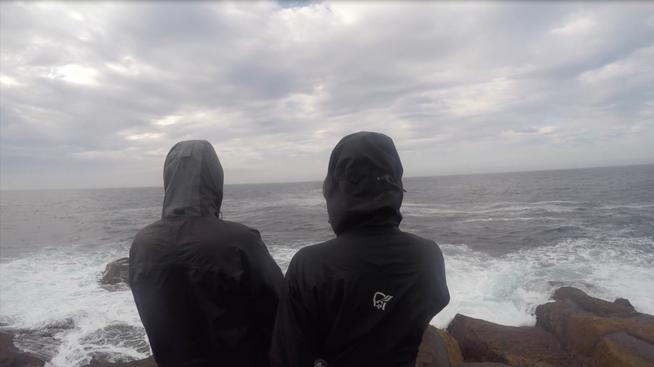 Das echte Nordkap Jannis Riebschläger und Joel Galla