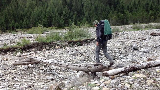 Wandern Junge Aussteiger Alpen E5 Into the Wild in die Wildnis Jannis Riebschläger Alpenüberquerung