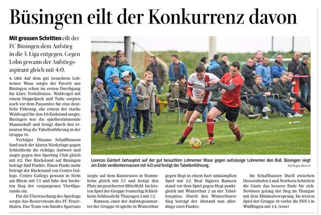 Quelle: Schaffhauser Nachrichten, 11. April 2016