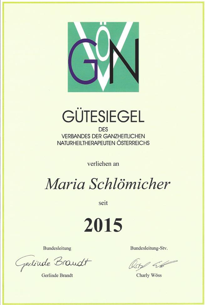 Energetik Niederösterreich, Kuffern, Maria Schlömicher, Naturheil-Therapeuten Praxis