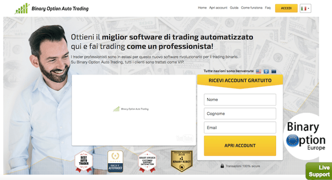 Binary Option Auto Trading opinioni