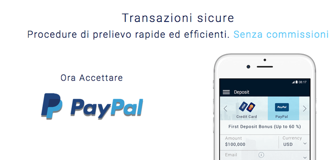 Forex broker with paypal deposit